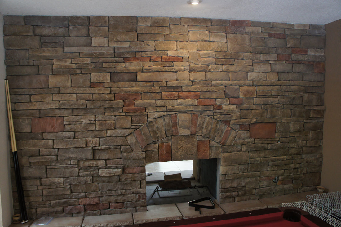 Fireplace Chimney Remodel El Paso Moy Construction Remodeling